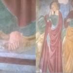 Un nuovo caso di Esadattilia nell'Arte del Trentino! Un S. Giovanni con 6 dita a Carisolo (TN).