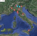 1 Mappa segnalazioni 2016