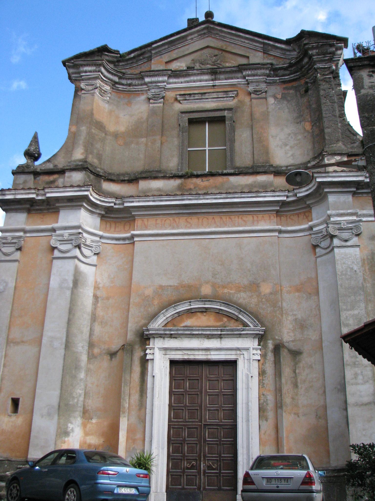 36 Chiesa S Giovanni Battista a Patrica