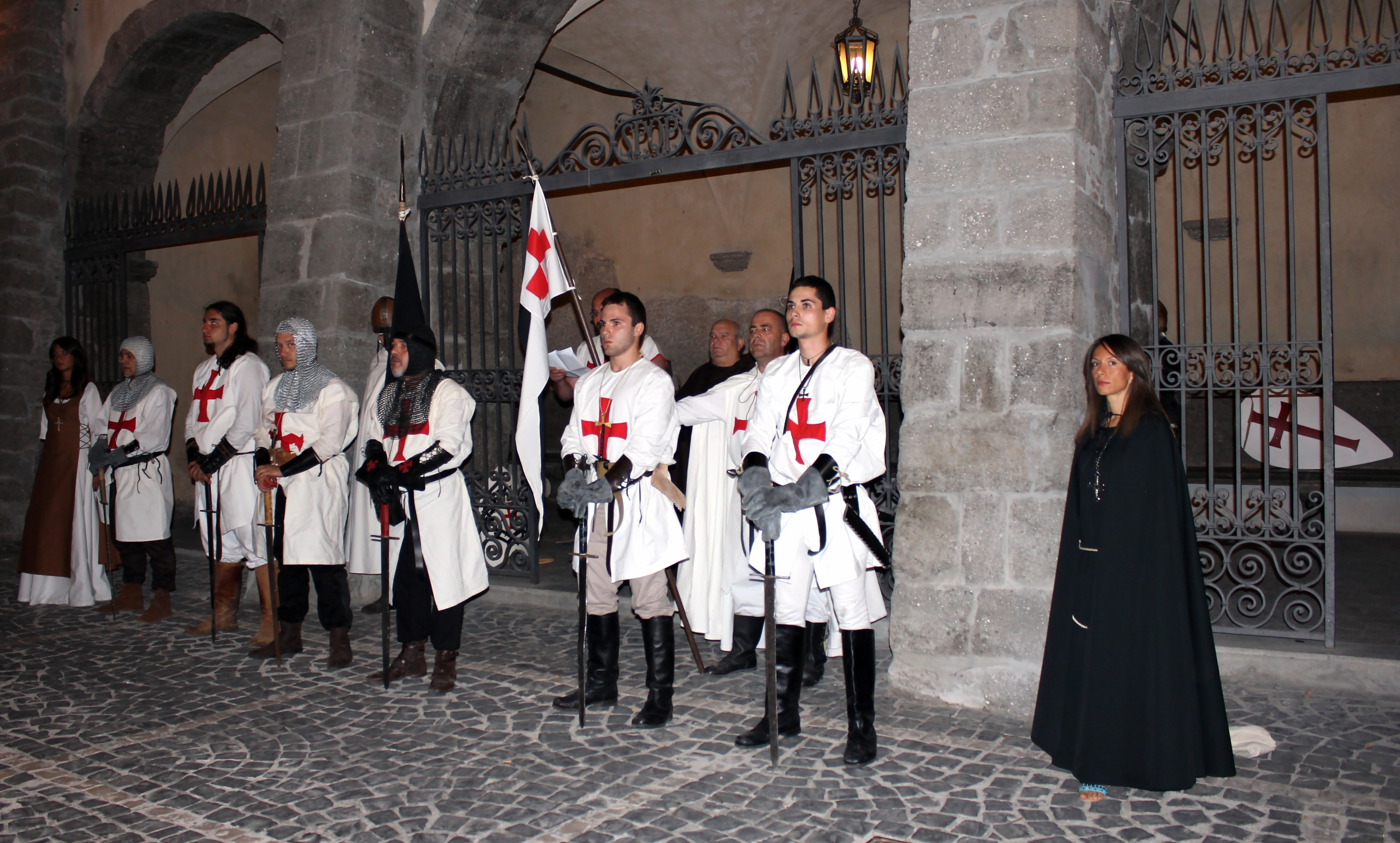 41 Rievocazione Templari S Paterniano a Patrica - ago 2011