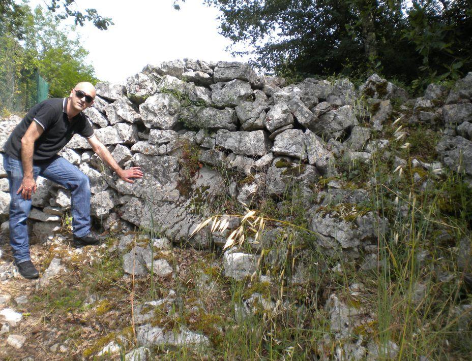Adinolfi e muro a secco