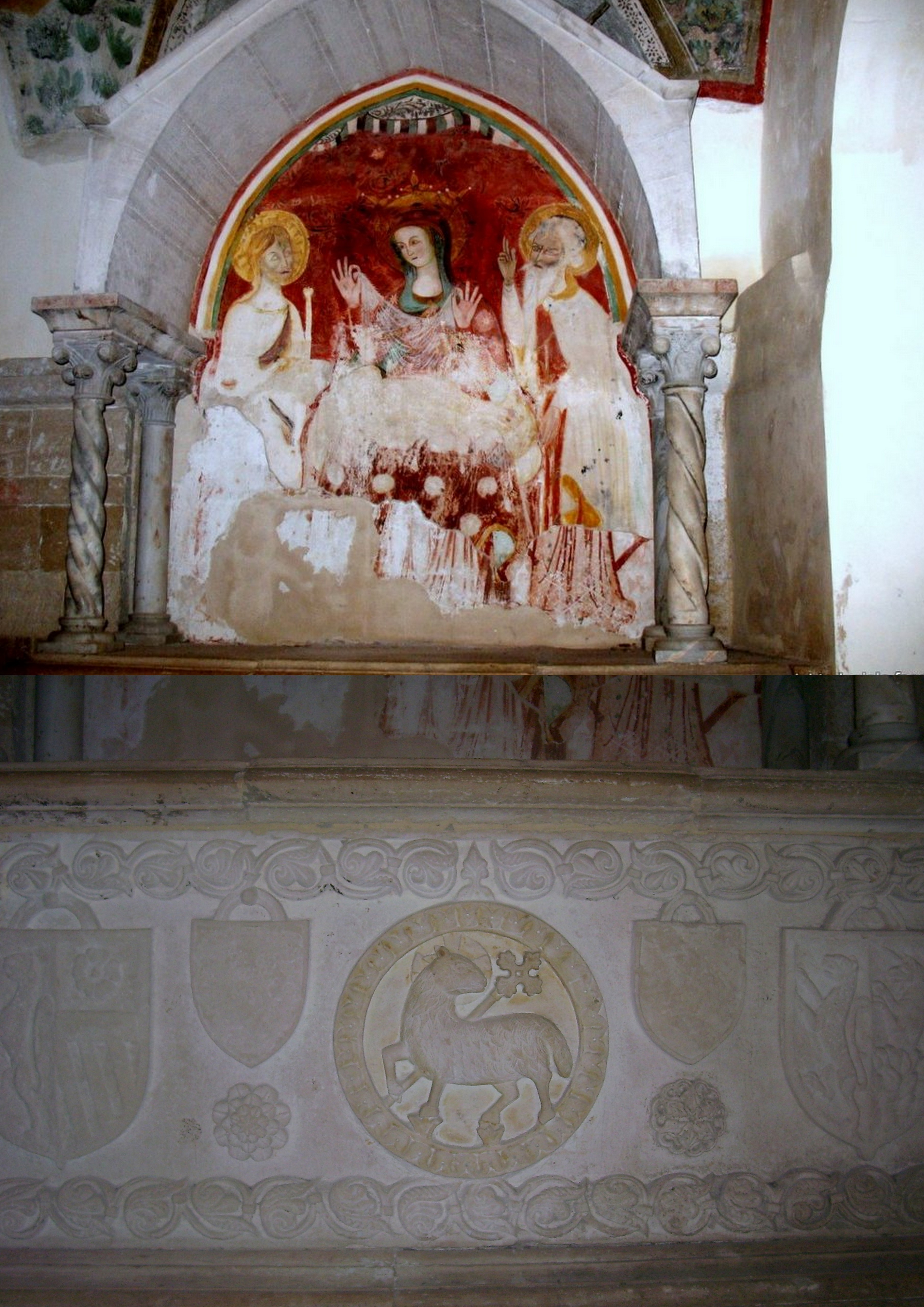 Altare con la Madonna del Velo