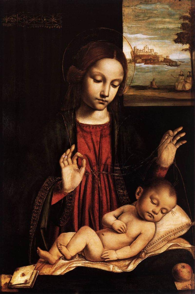 Madonna del Velo di Bergogno, fonte Wikipedia