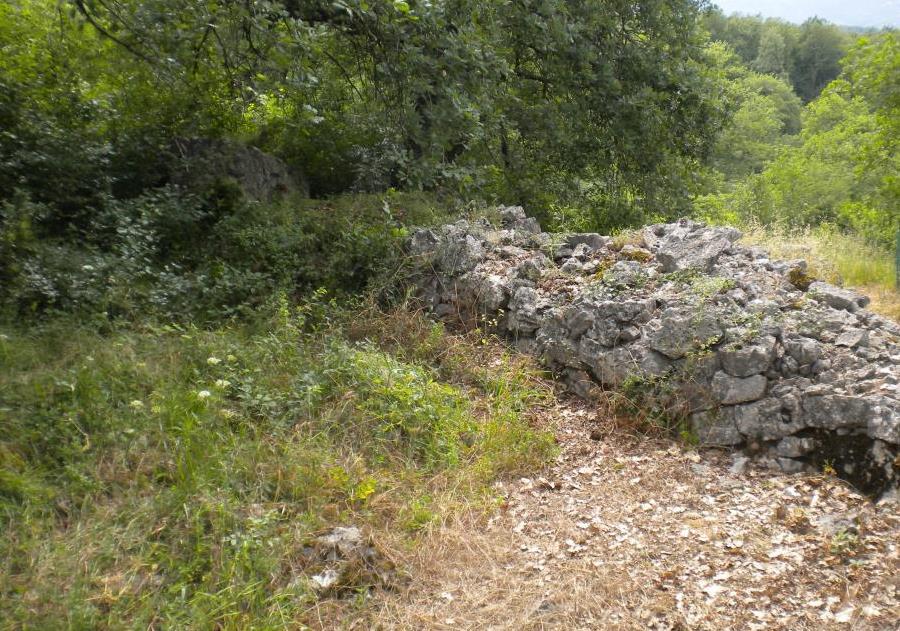 Muro in opera a secco