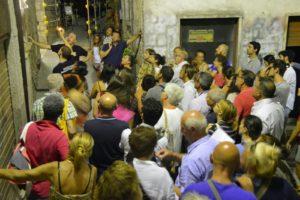 6 Folla nei vicoli di Amaseno alla caccia di simbologie misteriose