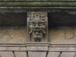 Immagine 1 - mascherone Palazzo Gizzi a Ceccano