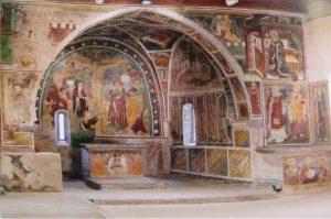 Chiesa cimiteriale di S. Stefano a Carisolo. Presbiterio