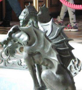 4 Alcuni draghetti nel castello di Miramare