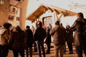 Pavat illustra i significati della Triplice Cinta in piazza Piave