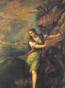 12 Tiziano - S Margherita d'Antiochia - Madrid - Il Prado