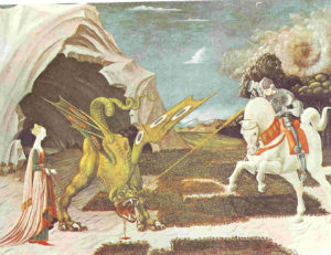 6 Paolo Uccello - S Giorgio - Londra National Gallery