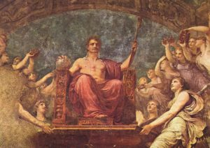 Apoteosi di Napoleone - Andrea Appiani 1807 - Villa Carlotta