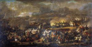Battaglia di Lipsia di Vladimir Ivanovich Moshkov 1792-1839