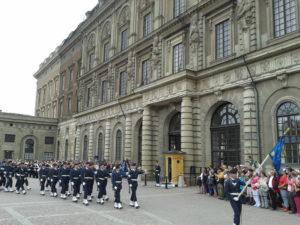 Stockholm - Cambio della Guardia - Kungliga Slottet - 2013