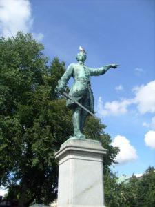 Stockholm - Statua carlo XII (1)