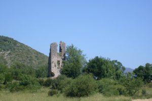 Torre di Pisterzo nella valle dell'Amaseno – foto G. Pavat