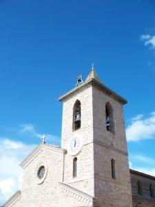 Campanile della chiesa di San Michele Arcangelo a Pisterzo – foto G. Pavat