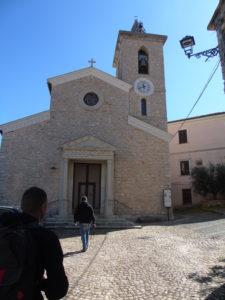 Chiesa di San Michele Arcangelo a Pisterzo (LT) – foto M. Tiberia