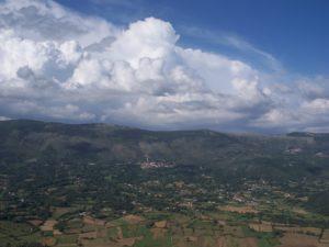 Valle dell'Amaseno e Monte Siserno visti da Pisterzo (LT) – foto G. Pavat