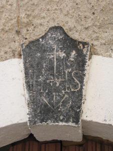 Altro Trigramma Cristico a Pisterzo (LT) – foto G. Pavat