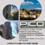 (EVENTO) Domenica 21 maggio 2017: Alla scoperta di Pico (FR)….con Vivi Ciociaria