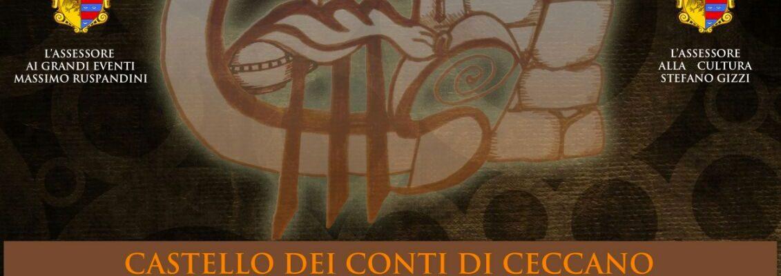 SABATO 9 DICEMBRE 2017, ore 09.00 al Castello dei Conti di Ceccano (FR), torna il PREMIO NAZIONALE CRONACHE DEL MISTERO.