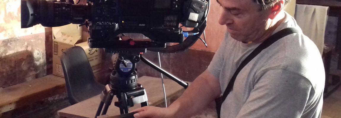Grazie al nostro sito e a Giancarlo Pavat, sono arrivate a Piglio le telecamere di Sky per riprendere i tesori e i misteri della chiesa di San Rocco
