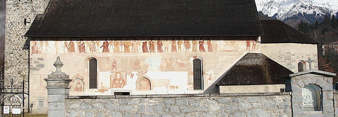 Un nuovo caso di esadattilia nell'arte sacra a Pinzolo in val Rendena? di Franco Manfredi