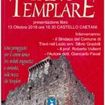 Sabato 13 ottobre 2018, presentazione di TREVI TEMPLARE, il nuovo libro di Giancarlo Pavat.