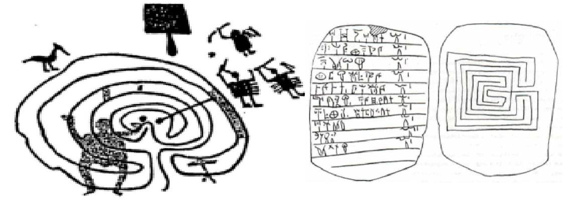 IL LABIRINTO IN ETÀ ANTICA: IL FASCINO DI UN SIMBOLO ANCORA PIENO DI MISTERI di I. Burgio