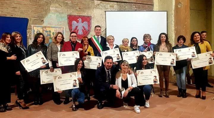 Grande pubblico al castello comitale per la Terza edizione il PREMIO DONNA EGIDIA DA CECCANO.