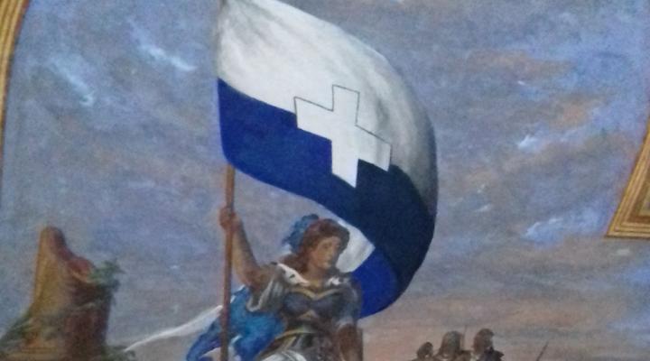 Per la Grecia e per la Liberta'; i segreti dell'affresco di Casa Biasoletto-Homero a Trieste.