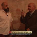 PIGLIO: Gli affreschi e i misteri della chiesa di S. Rocco in TV; di Giorgio Pacetti