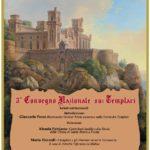 Sabato 9 novembre, al Castello dei Conti di Ceccano (FR), il III Convegno sui Templari a Ceccano!!!