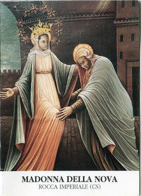 Il segreto del quadro della Madonna della Nova a Rocca Imperiale in Calabria; di Guglielmo Viti