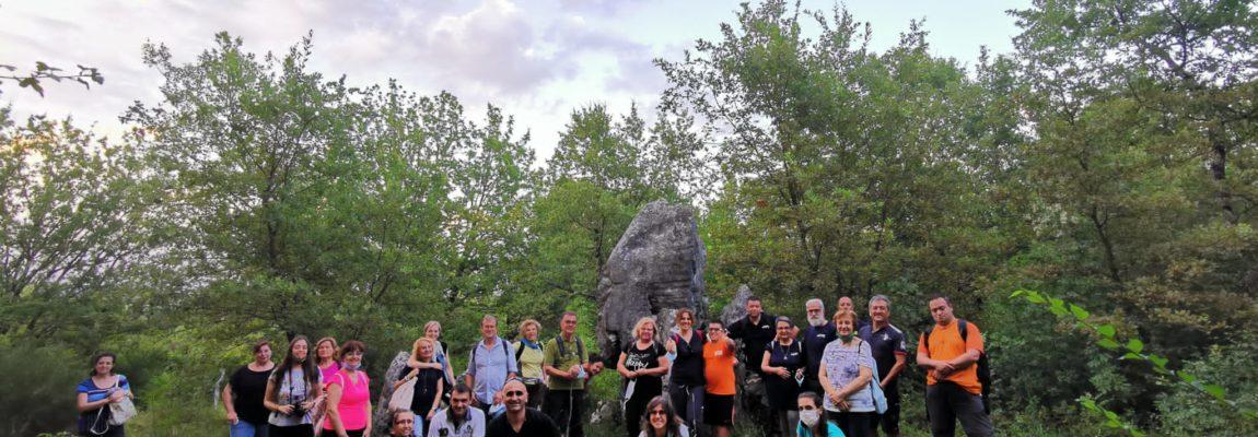 """I partecipanti all'Itinerario del Mistero alla scoperta del """"Vichingo"""" di Ceccano; di Roberto Adinolfi."""
