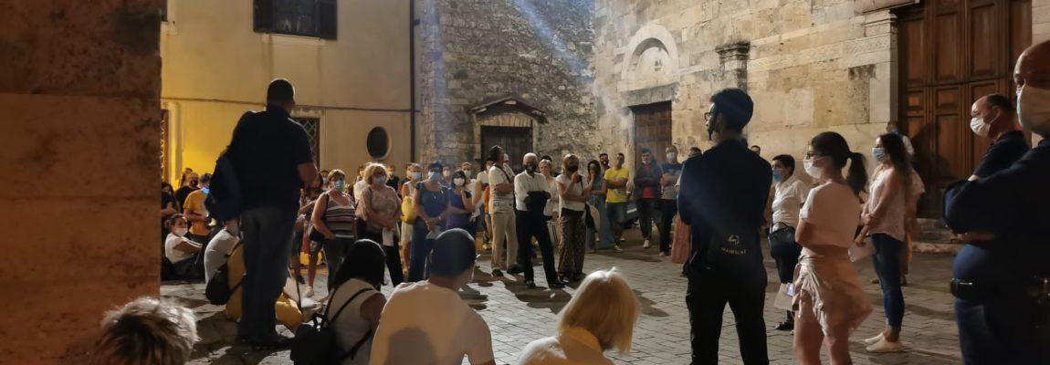 PHOTO GALLERY: Anagni Magica Misteriosa, Itinerario del Mistero di sabato 8 agosto.