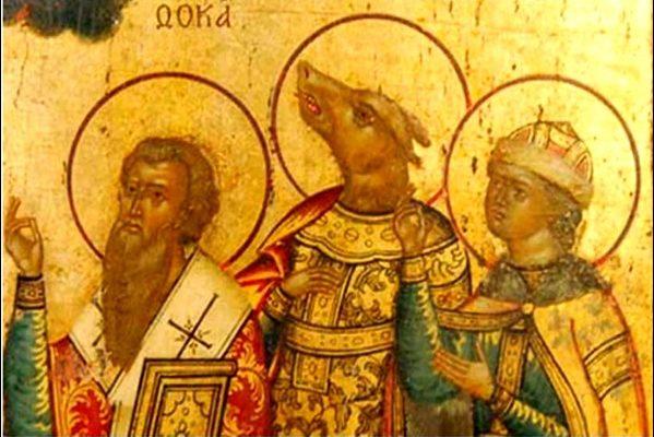 I Santi non più Santi e un 'Santo'… che abbaiava; di Roberto Volterri.