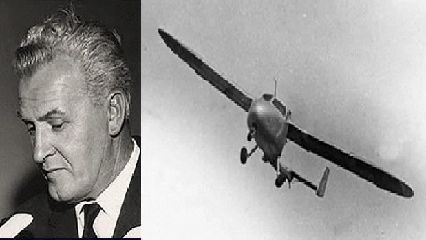"""""""AERAUTO"""", l'automobile volante di Luigi Pellarini; di Fiorenzo Zampieri."""