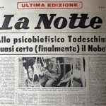 """Il """"mistero"""" del Premio Nobel annunciato e mai assegnato a Marco Todeschini; di Fiorenzo Zampieri."""