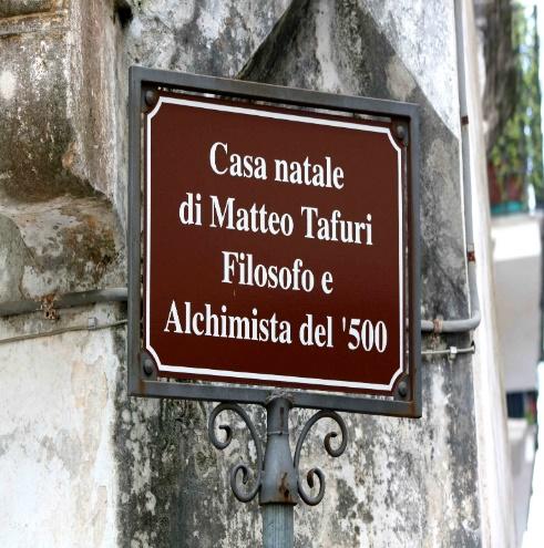 Matteo Tafuri's birthplace -02 cartello